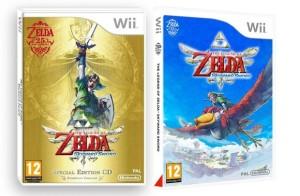 The Legend of Zelda Skyward Sword ecco le copertine europee