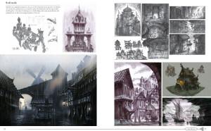 """Skyrim, Bethesda mostra sul suo blog un """"estratto"""" d'arte dal book della Collector"""