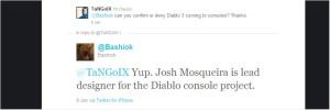 Diablo III su console da Twitter arriva la conferma