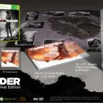Tomb Raider, in rete le immagini dei contenuti della Survival e Collector's Edition