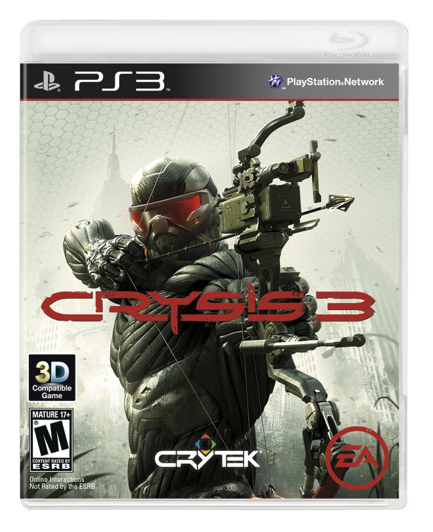 Crysis 3 copertina