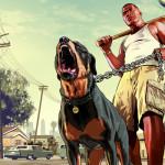 Grand Theft Auto V Franklin and Chop