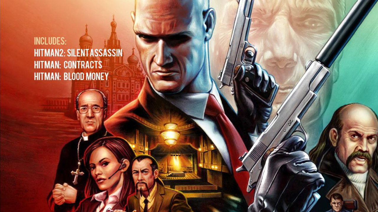 Hitman HD Trilogy header
