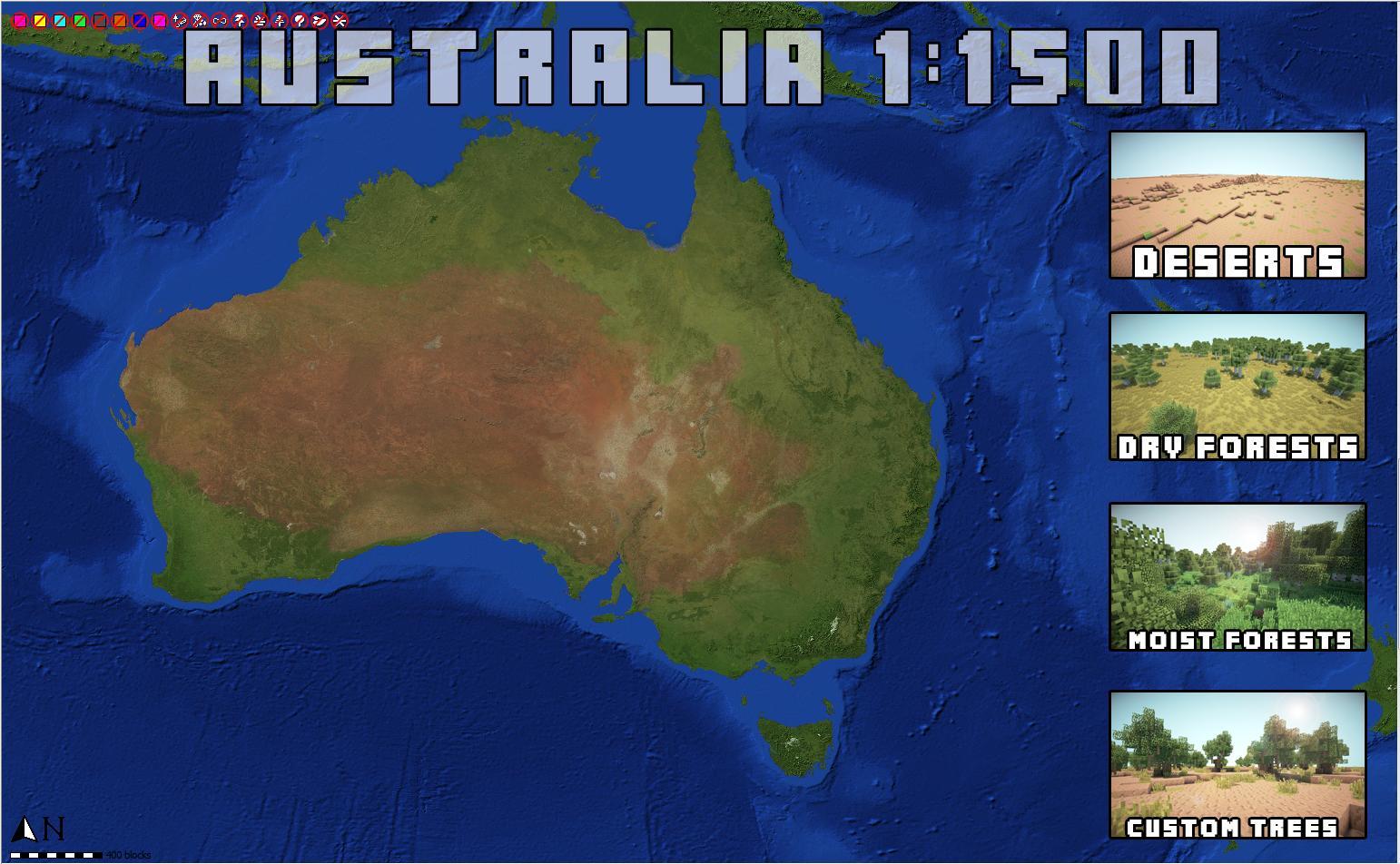 Minecraft Terra Australia 05012013
