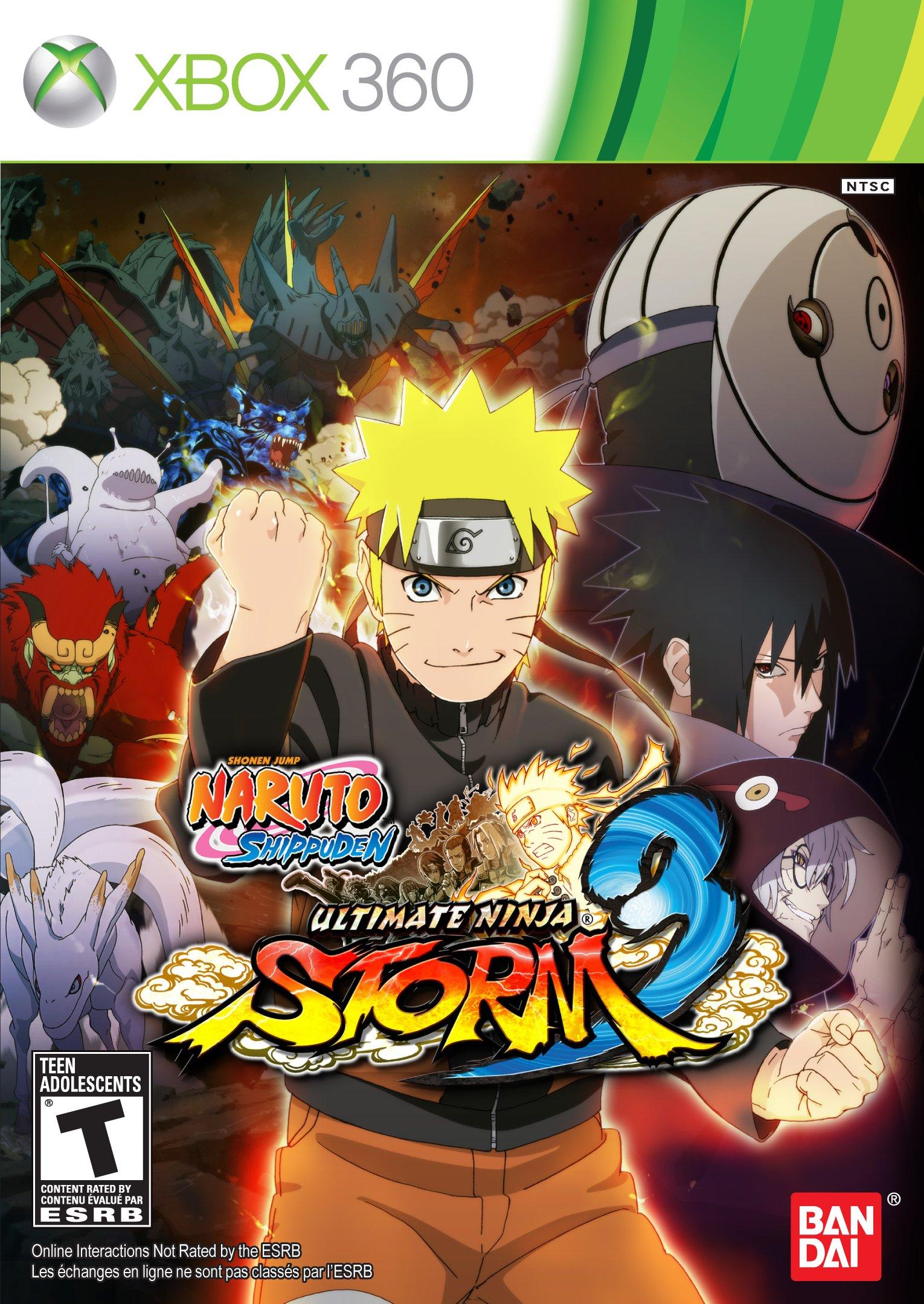 Naruto-Shippuden-Ultimate-Ninja-Storm-3 copertina xbox 360