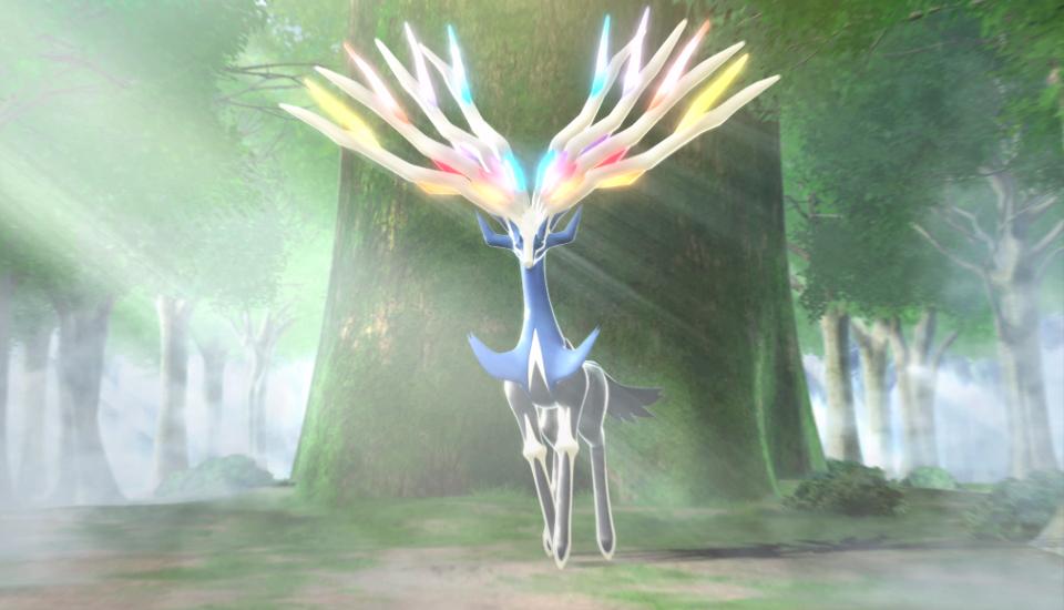Pokemon x y XerneasCGI