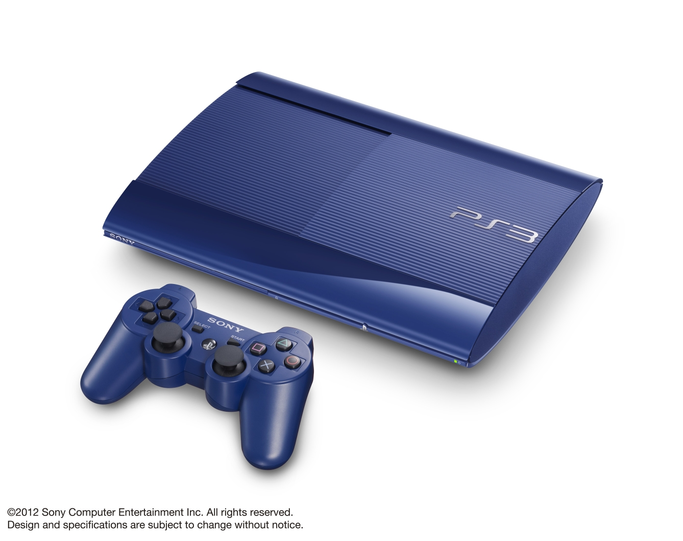 Ps3 super slim Azurite Blue