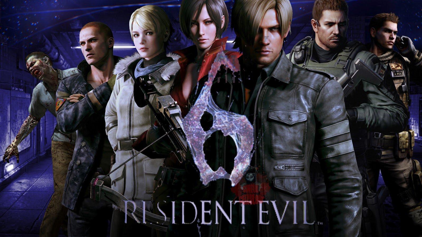 Resident Evil 6 header