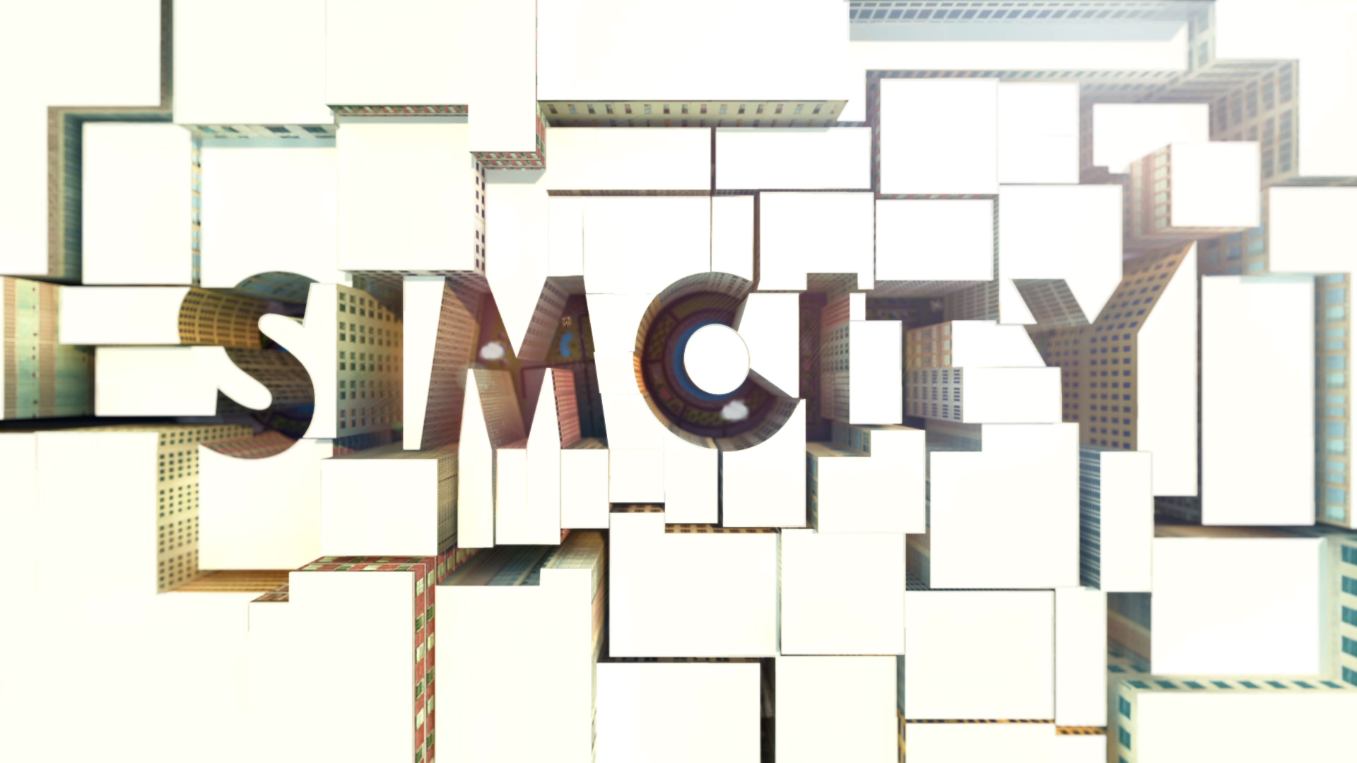 SimCity header in video