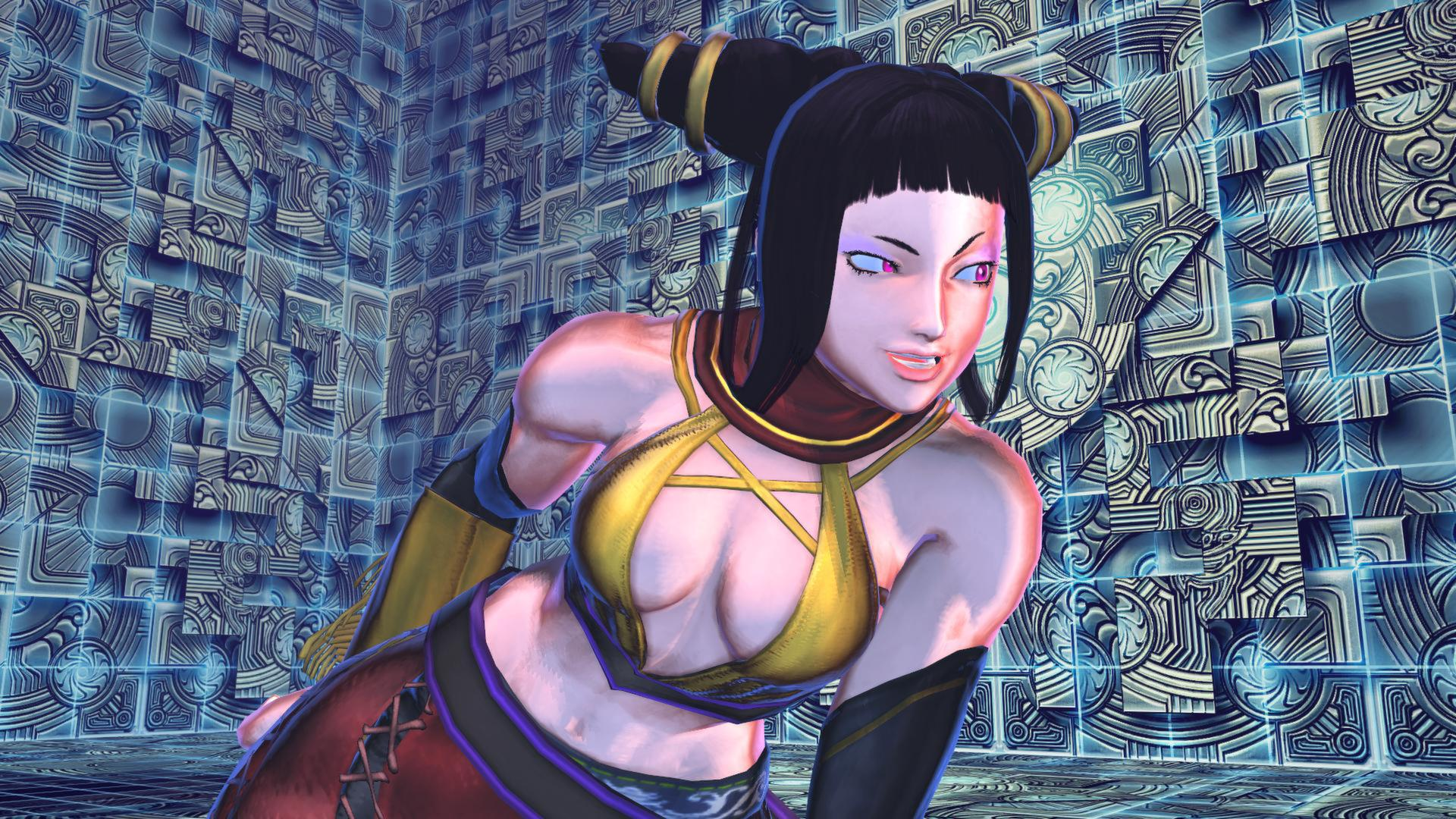 Street Fighter x tekken Juri