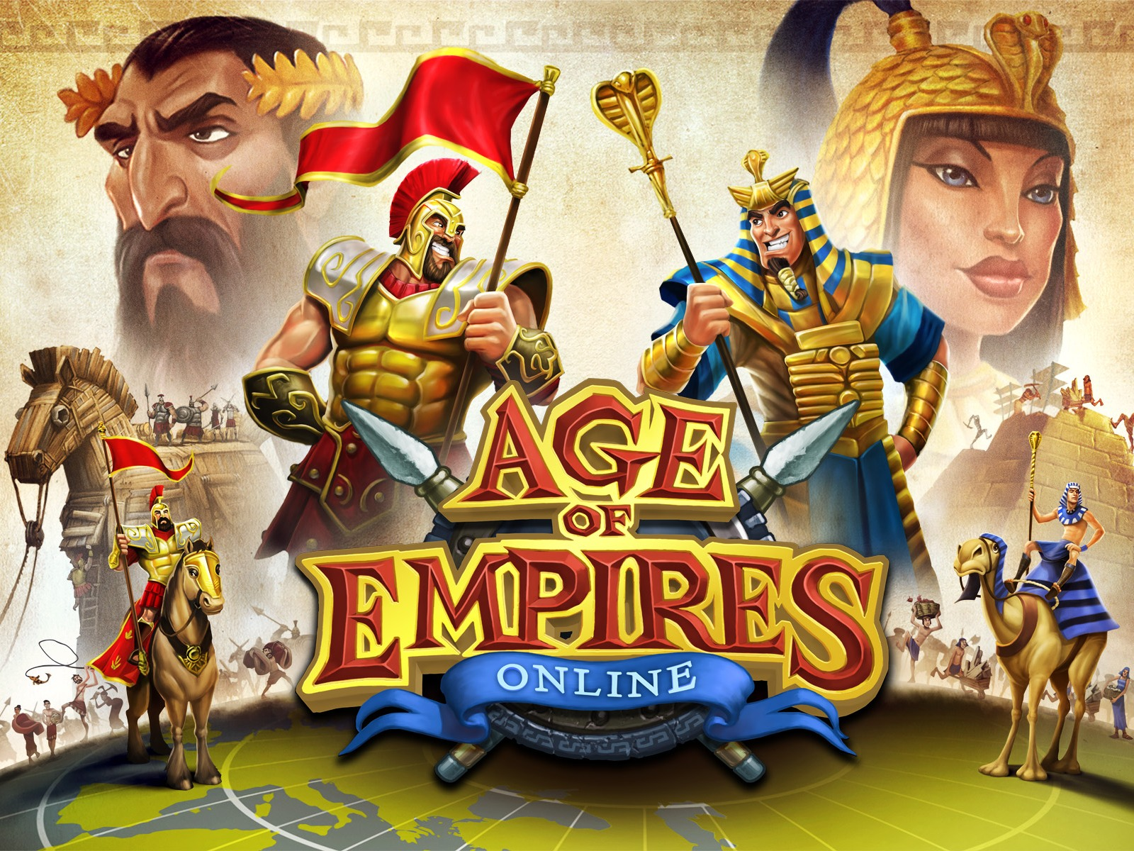 age of empires online header
