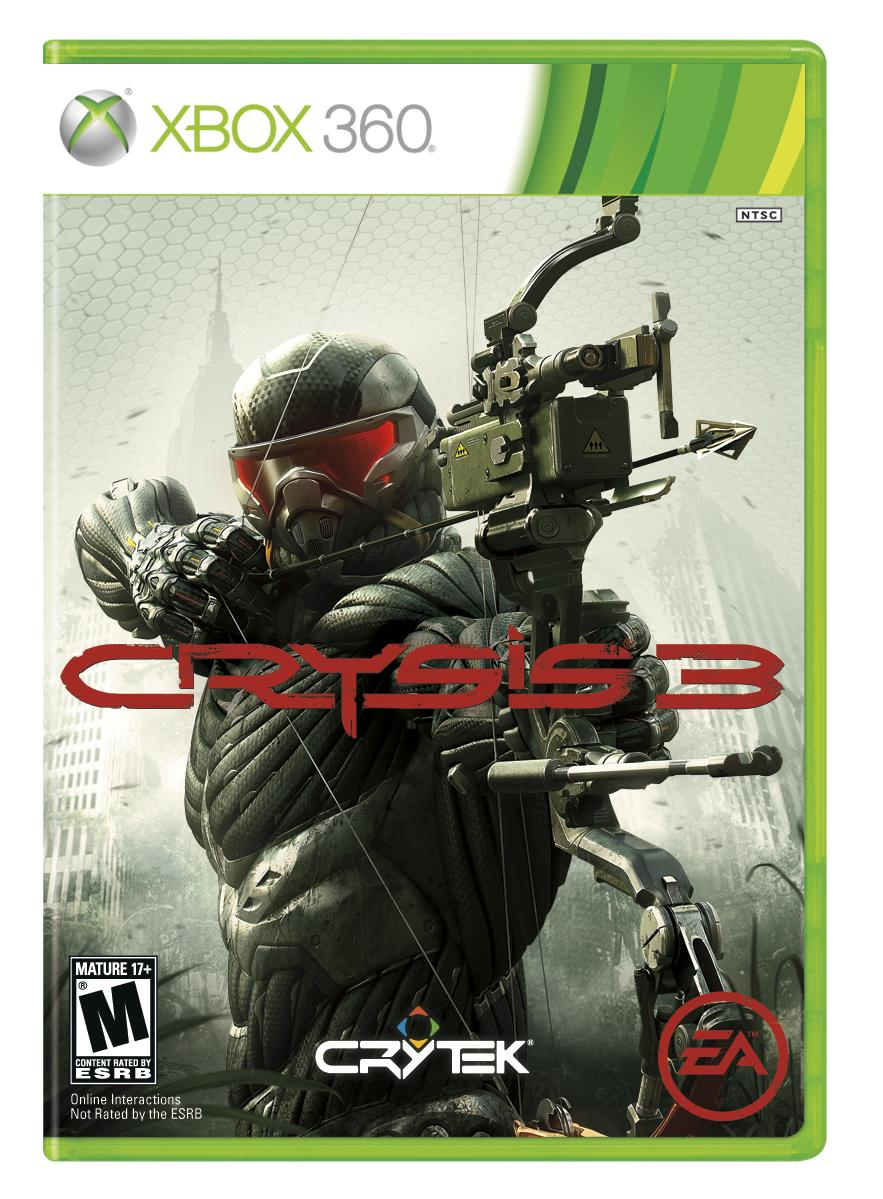 crysis 3 copertina xbox 360