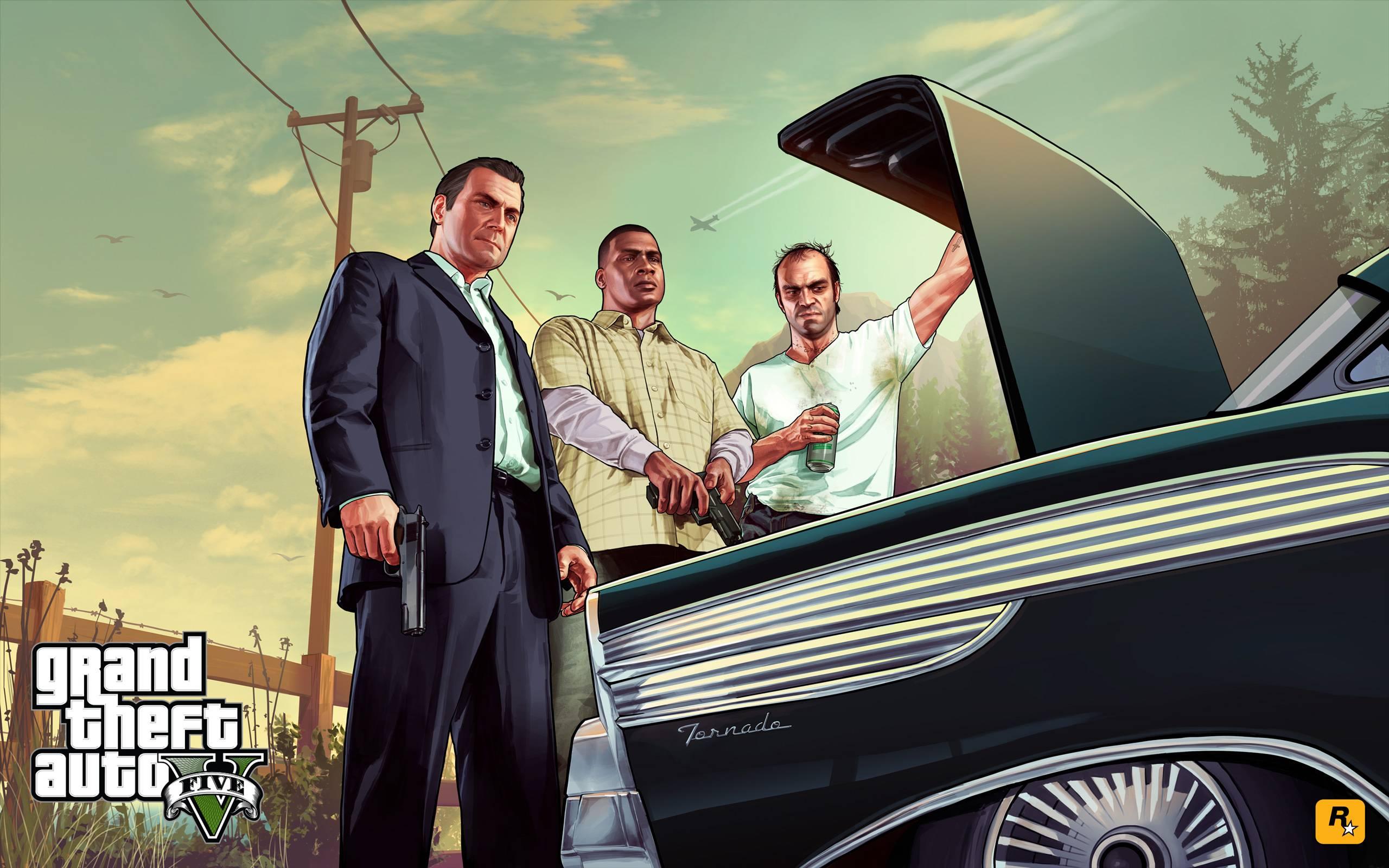 grand thef auto V artwork 04012013