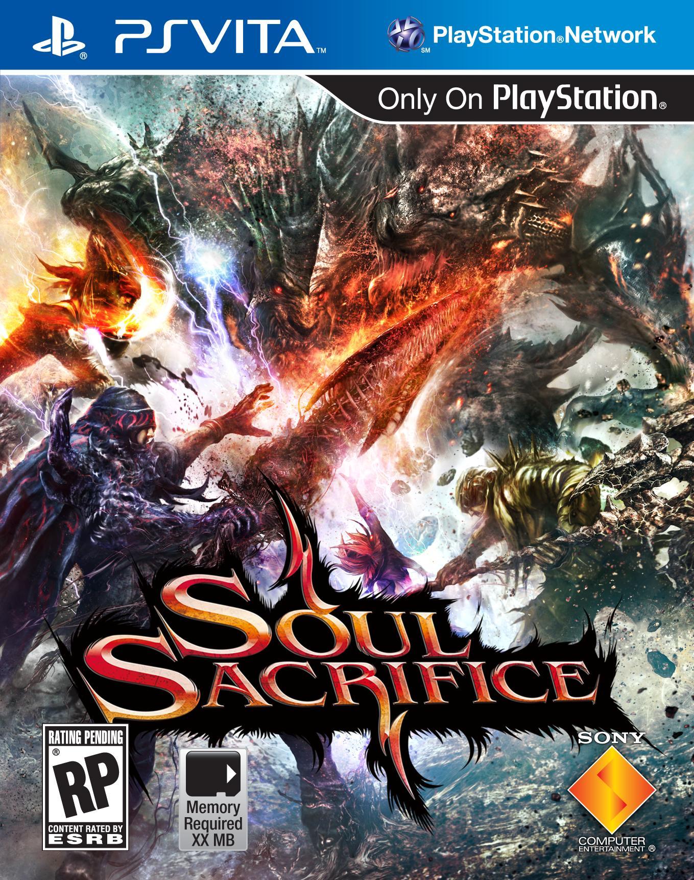 soul sacrifice copertina