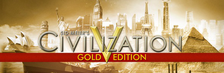Civilization V Gold Edition Header