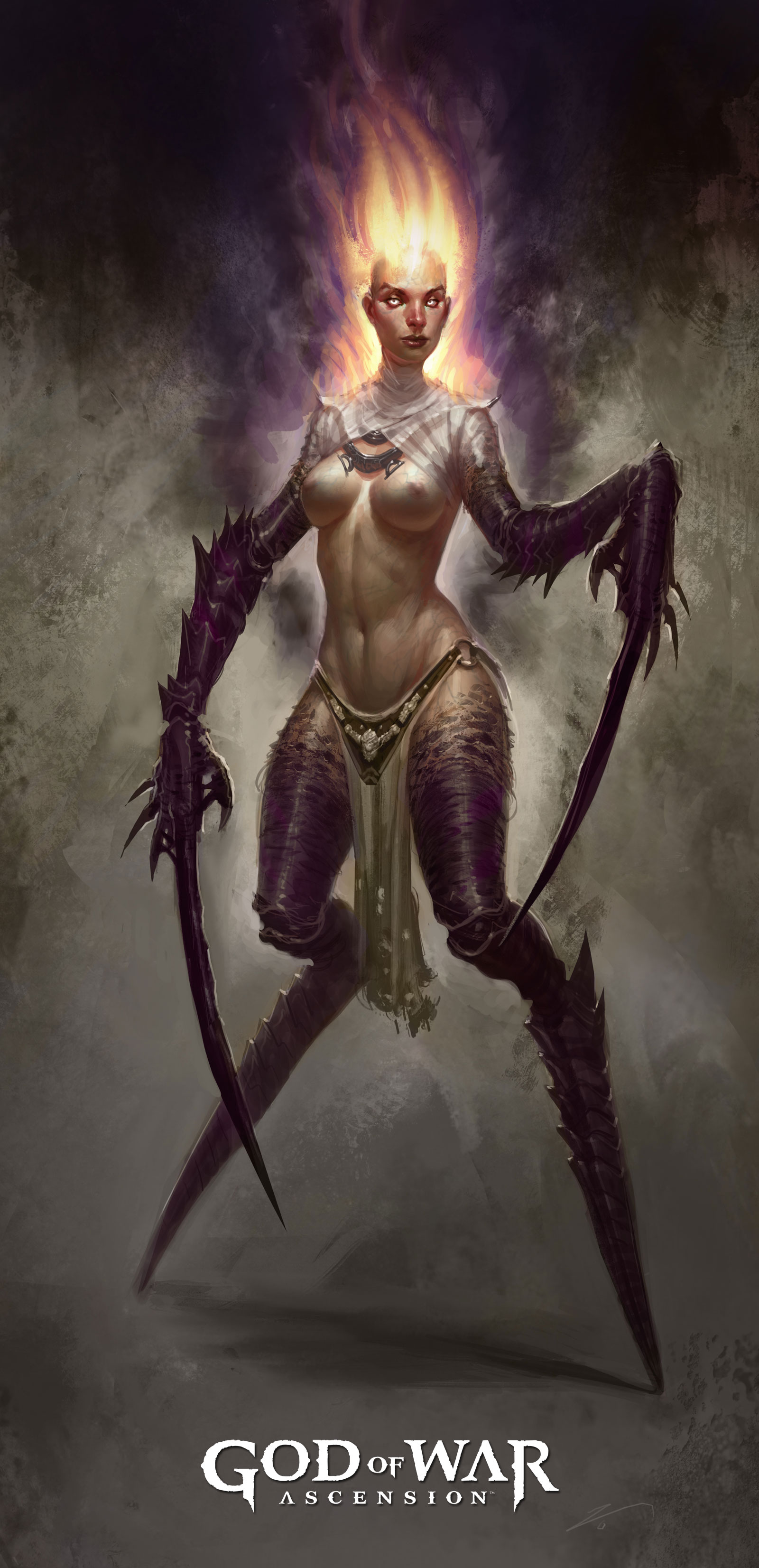God of War Ascension Empusa