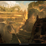 God of War Ascension artwork 02022013f minotaur canyon