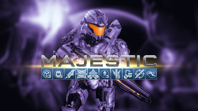 Halo 4 Majestic Map Pack trofei