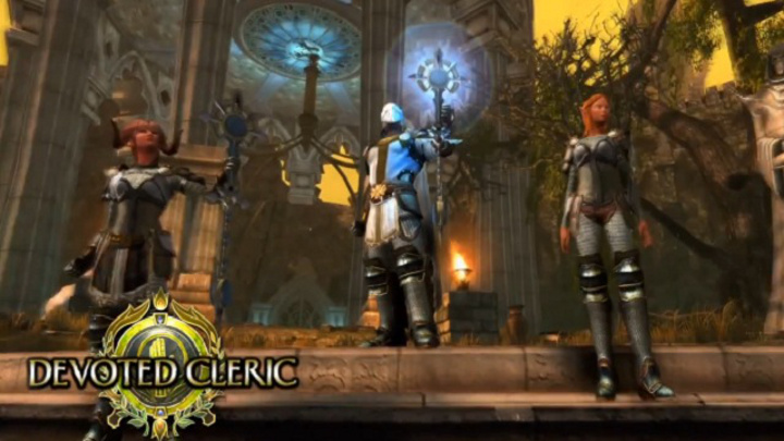 Neverwinter devoted cleric
