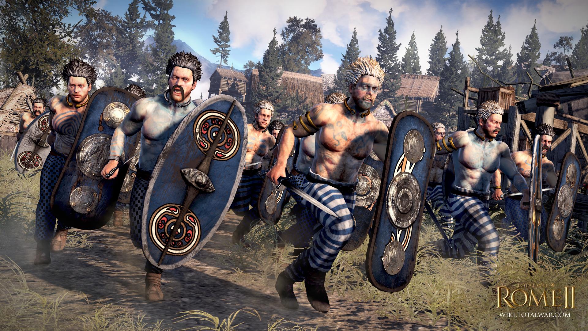 Rome II Iceni