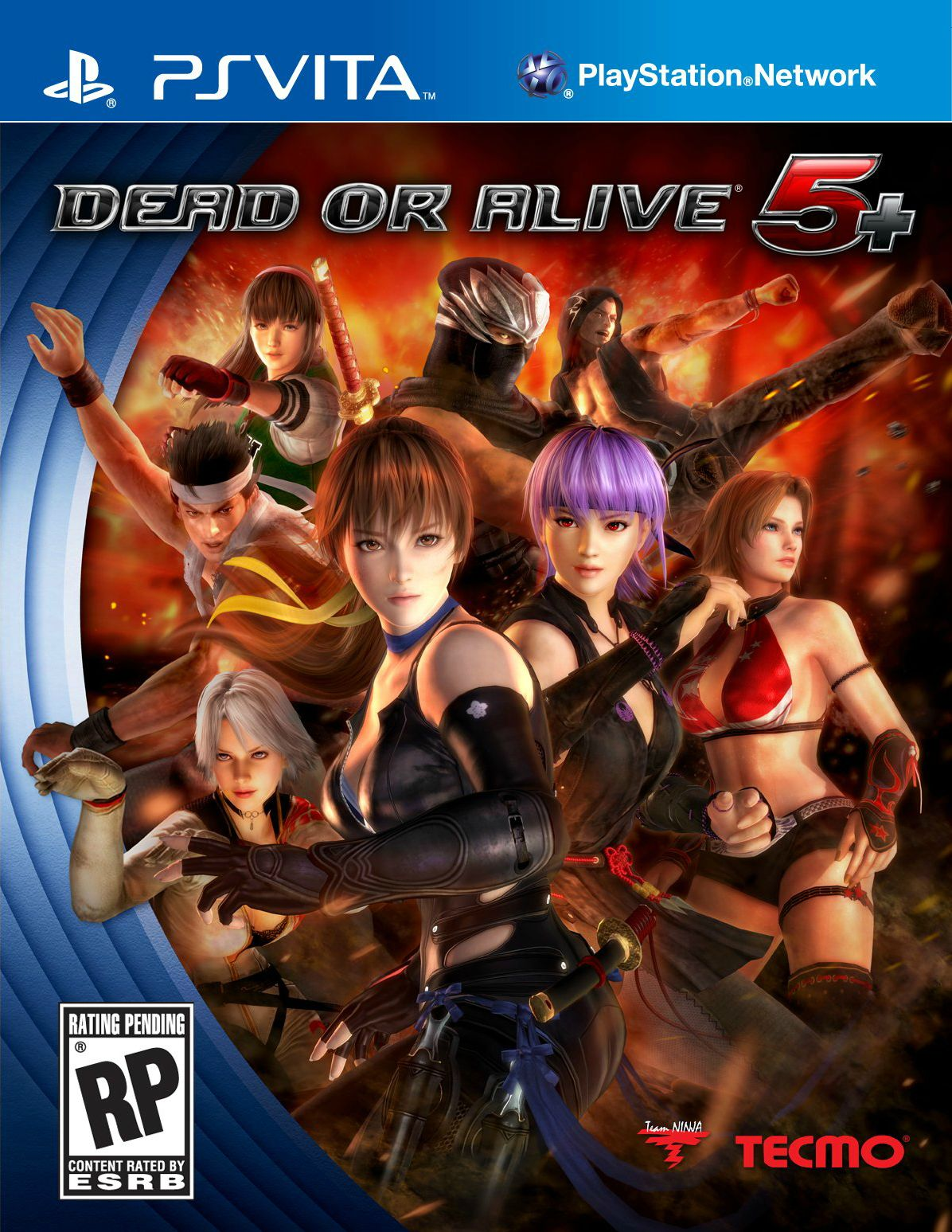 dead or alive 5 plus cover ps vita