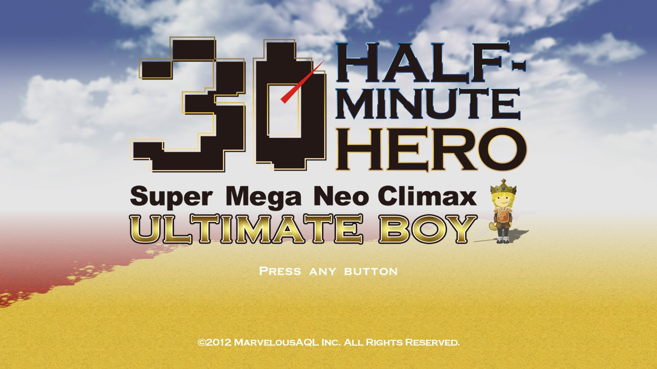 half minute hero title