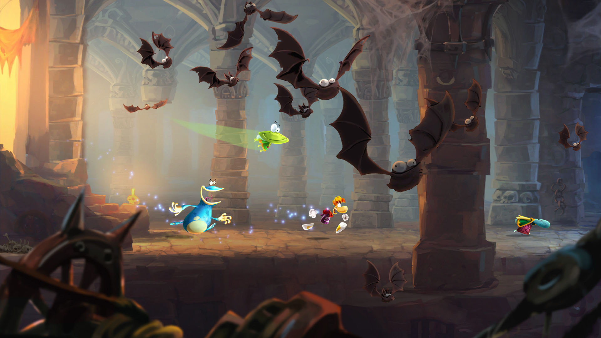rayman legends in game