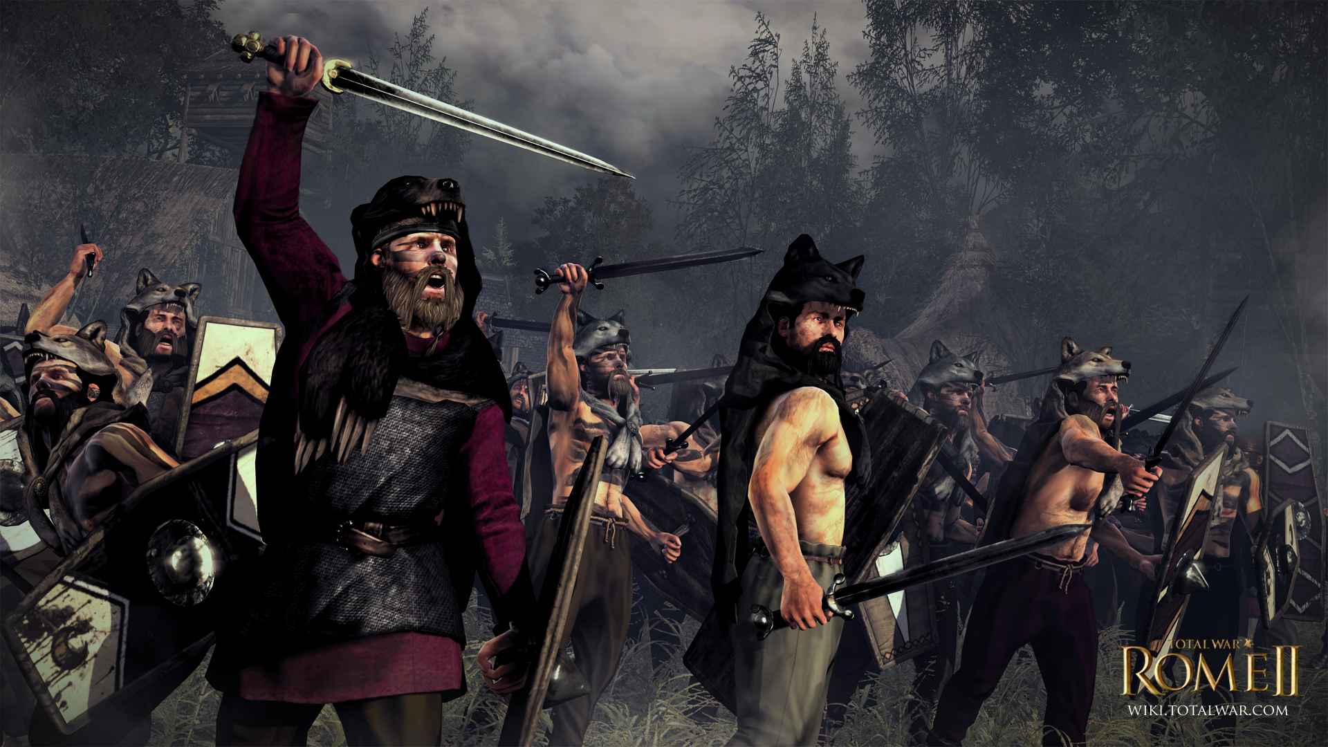 rome II Total War Svevi