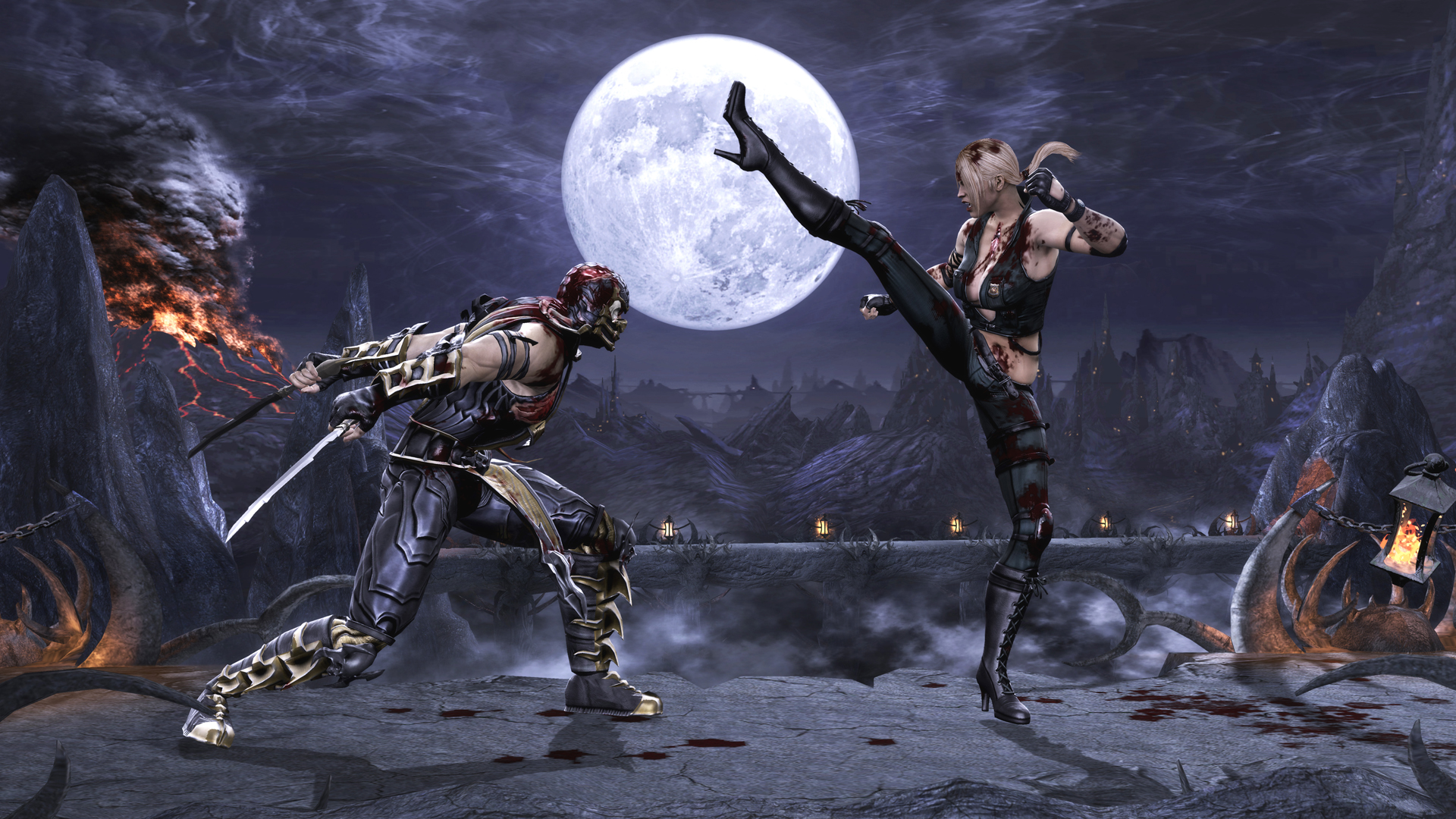 Mortal_Kombat_2011_Sonya_Blade_vs_Scorpion