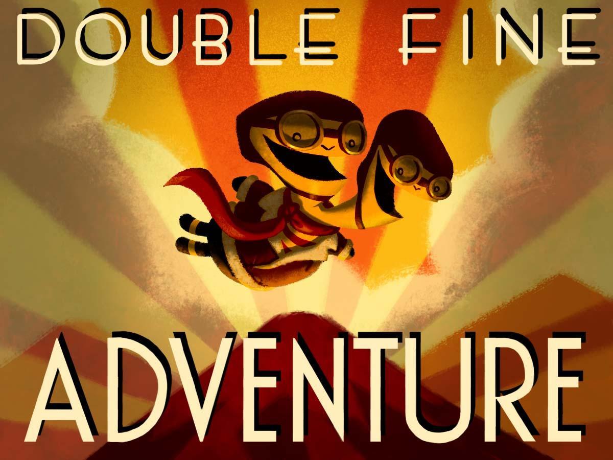 double fine adventure header