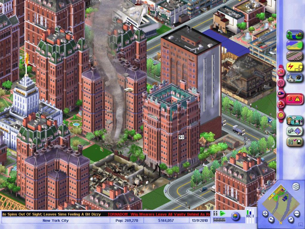 Un nuovo passo evolutivo nella serie lo abbiamo con SimCity 3000, sempre grafica isometrica ma grazie ad una migliore tecnologia, la grafica diventò ancora più varia e gradevole, tante novità anche sul piano del gameplay con vere e proprie aggiunte sostanziali