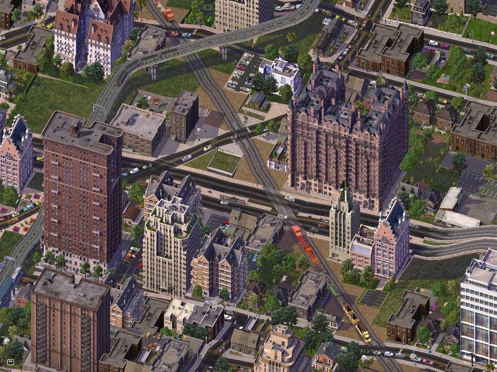 Uno scorcio della complessità in SimCity 4. Venne introdotto il concetto di regione rendendo fondamentale il settore trasporti