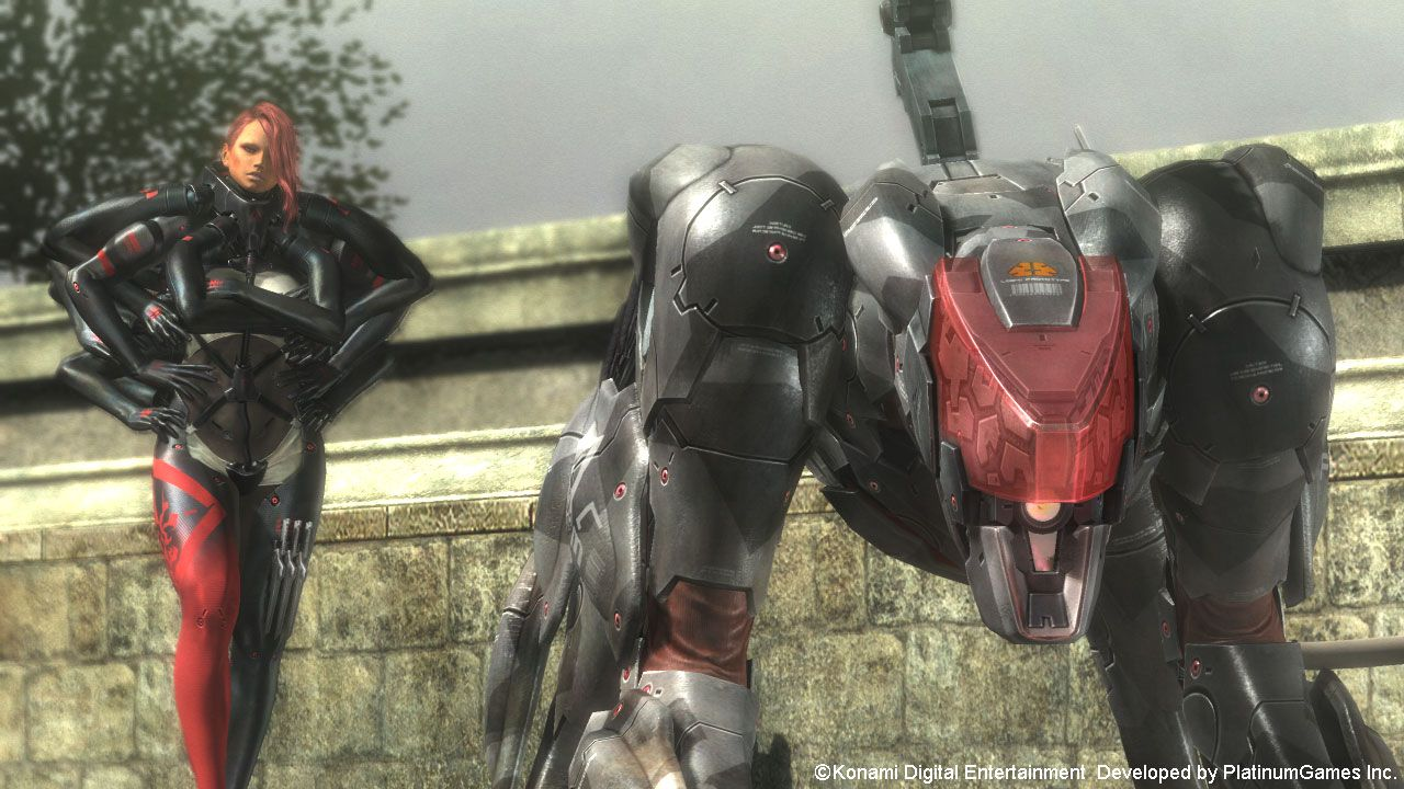 Metal Gear Rising Revengeance Blade Wolf DLCb
