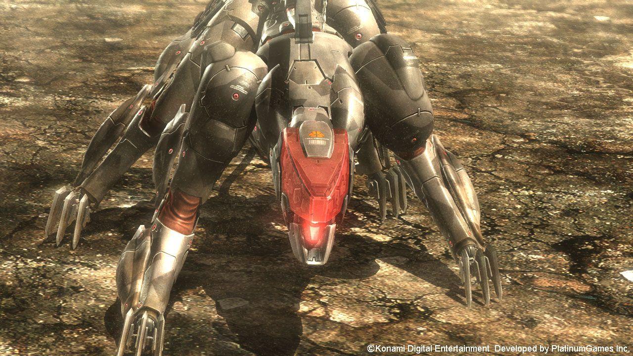 Metal Gear Rising Revengeance Blade Wolf DLCd