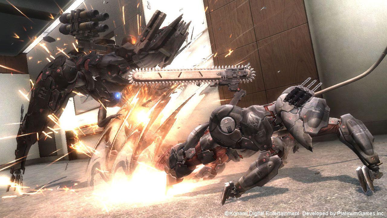 Metal Gear Rising Revengeance Blade Wolf DLCi
