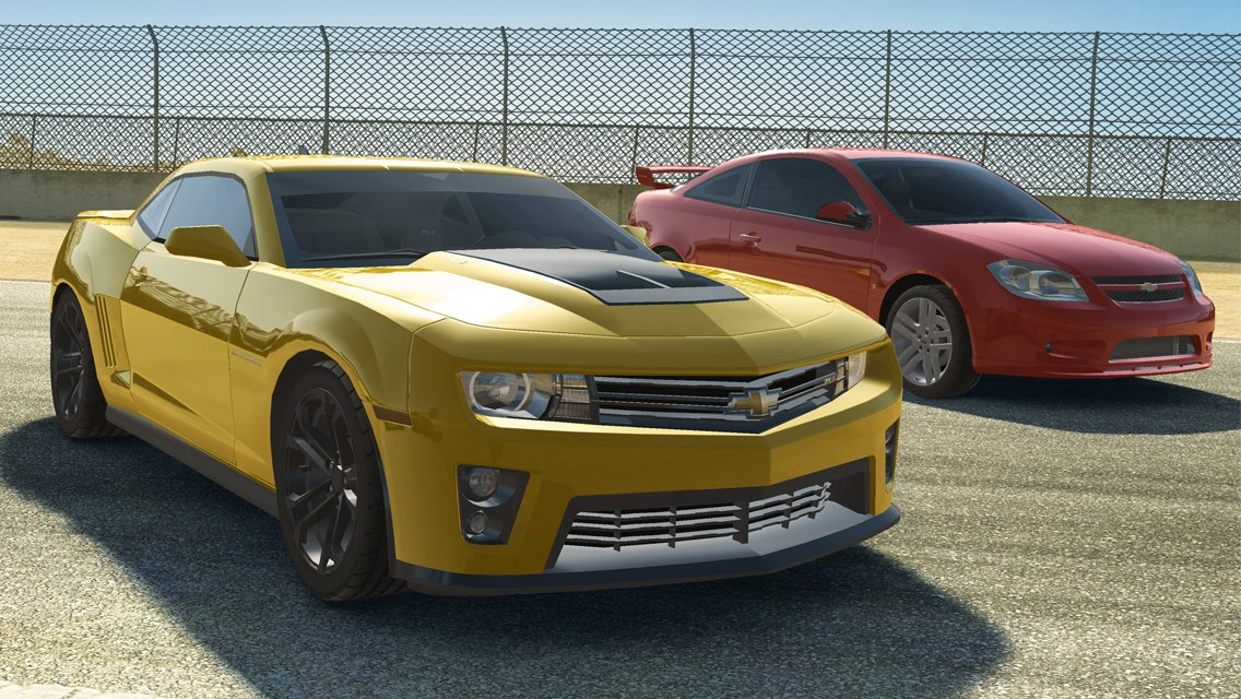 Real-Racing-3-Chevrolet-Camaro-ZL1-and-Cobalt-SS