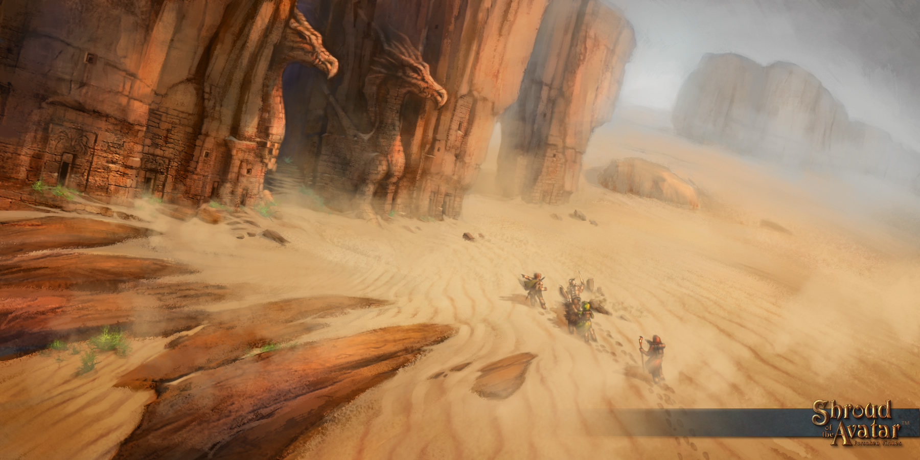 Shroud of the avatar chiude la sua campagna kickstarter for Milioni di dollari piantine