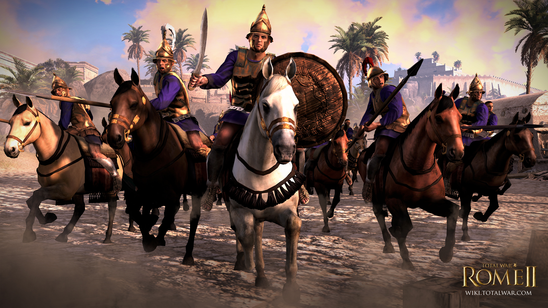 Total War Rome II PonticRoyalCavalry