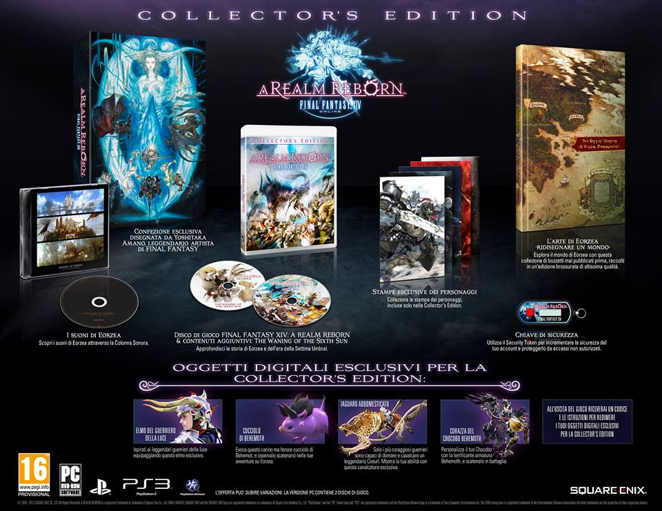 FFXIV Collector's edition