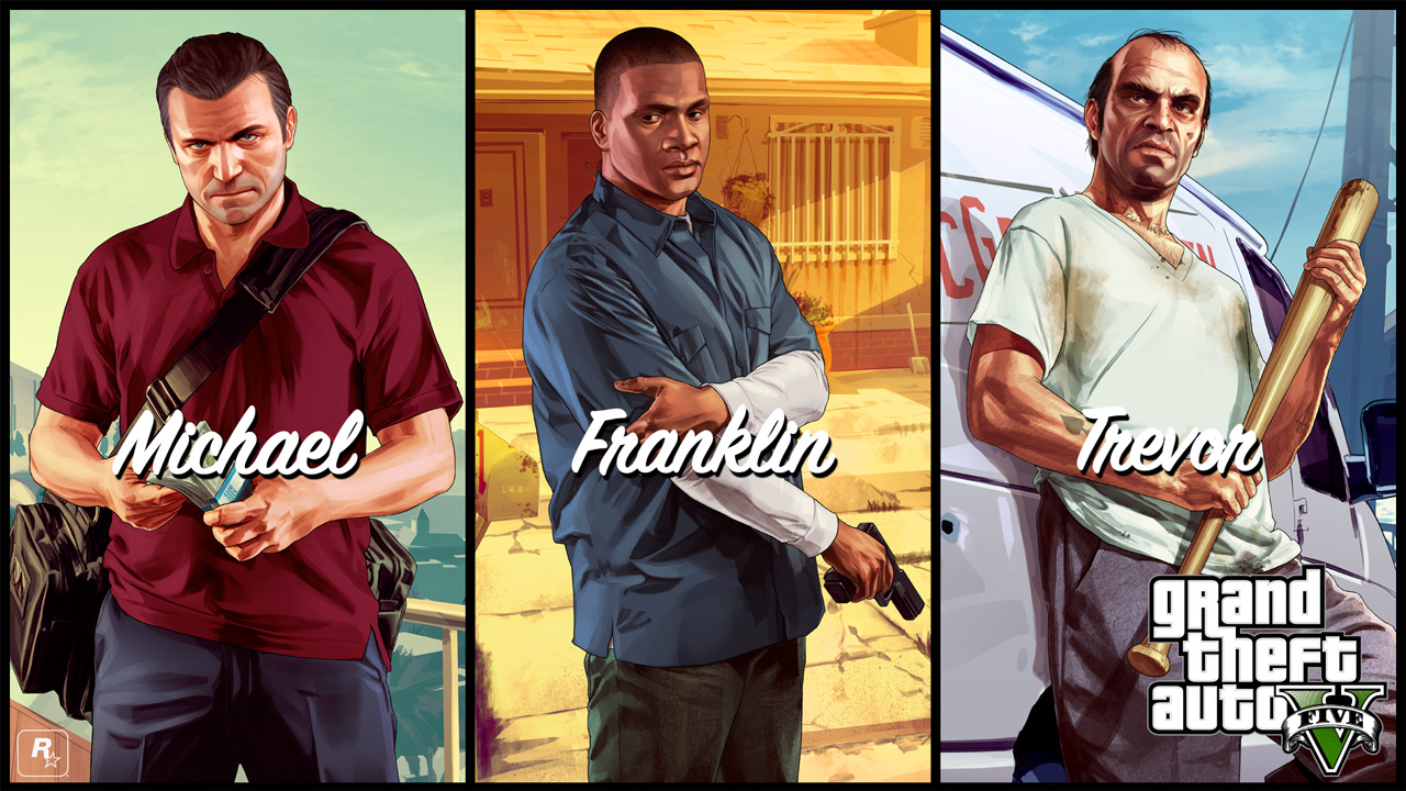 GTA-V-michael-franklin-trevor