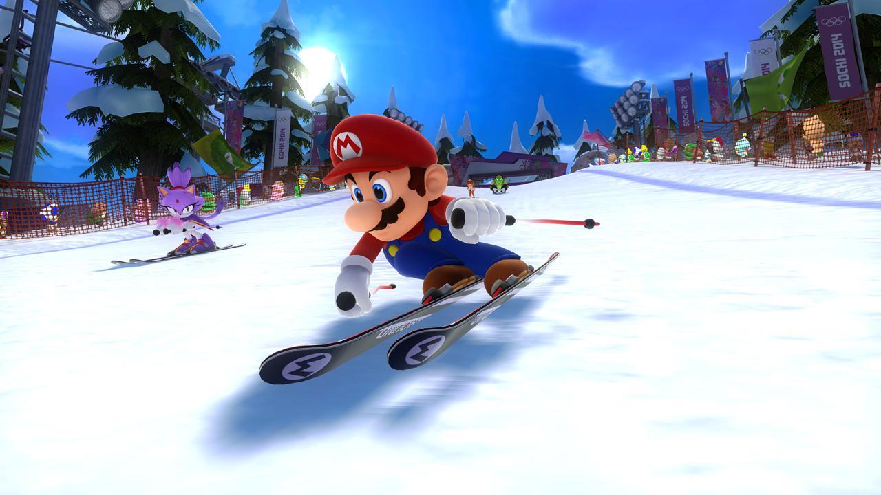 Mario & Sonic alle Olimpiadi Invernali di Sochi 2014a