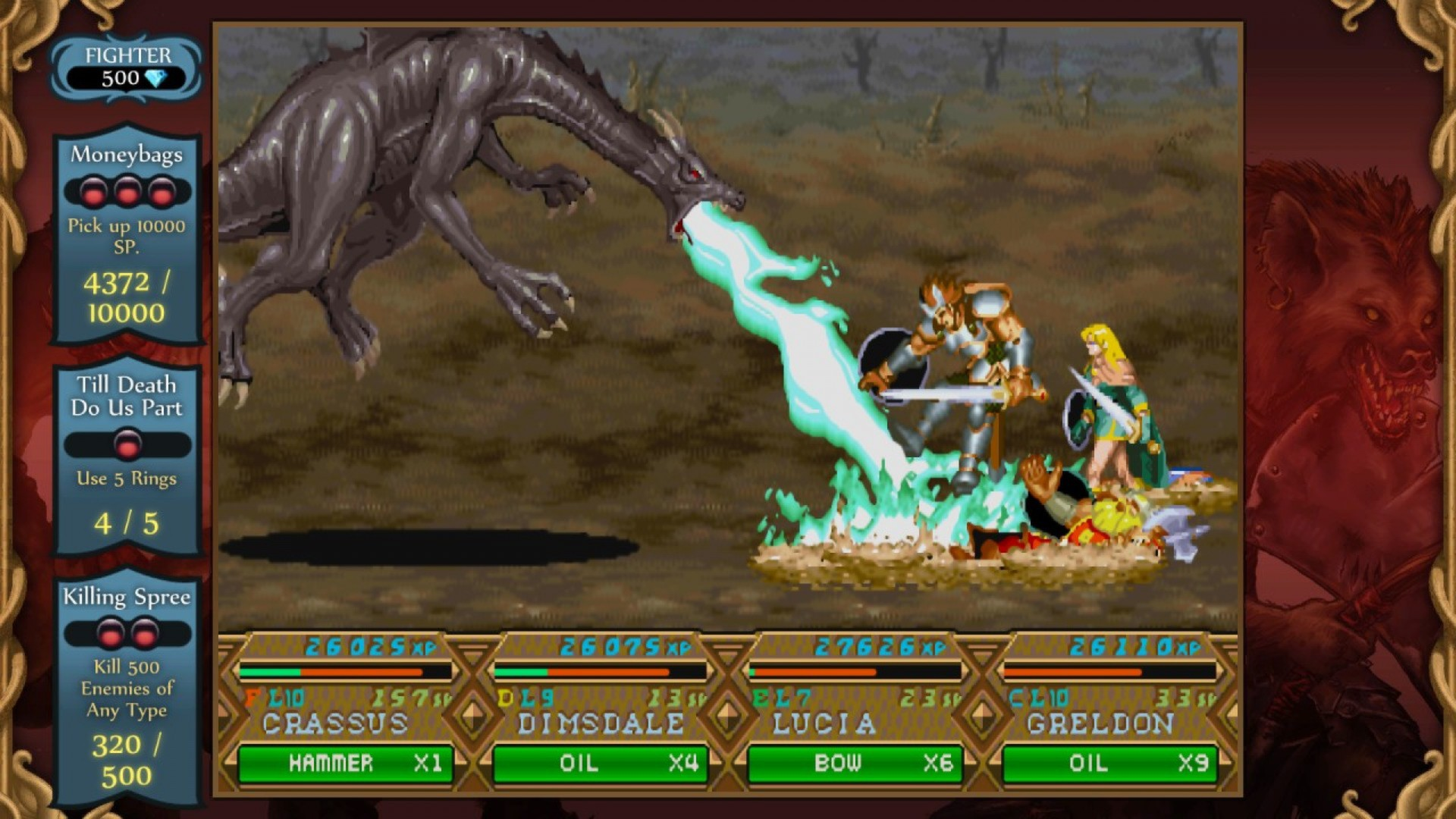 Dungeons & Dragons Chronicles of Mystara in game
