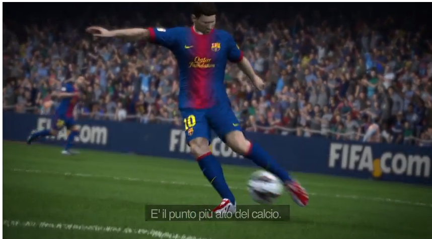 Fifa 14 E3 trailer PS4 Xbox One