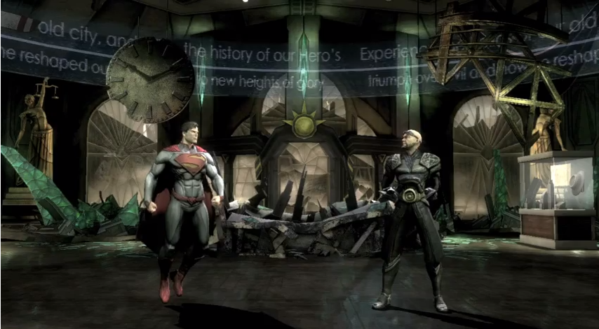 Injustice Gods among us zod