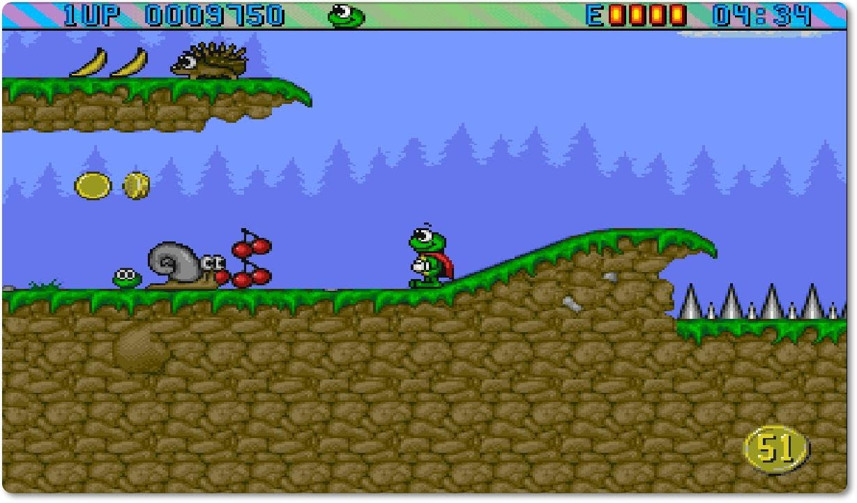 Superfrog 1993 in game