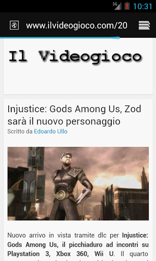 ilvideogioco rss android