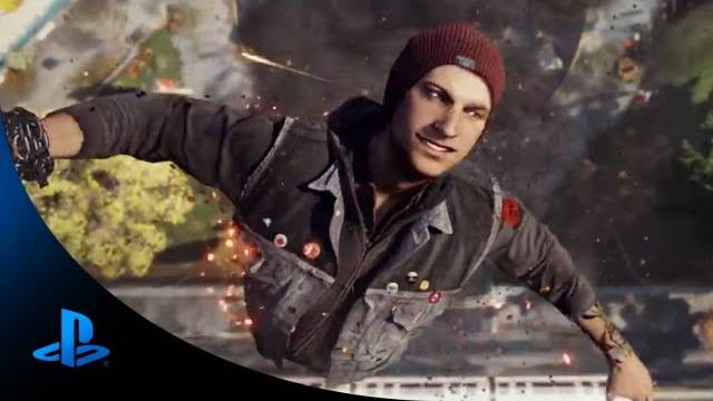 infamous second son e3trailer