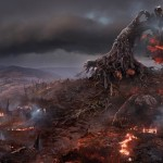 the witcher-3-a-demonic-tree-among-conflagration