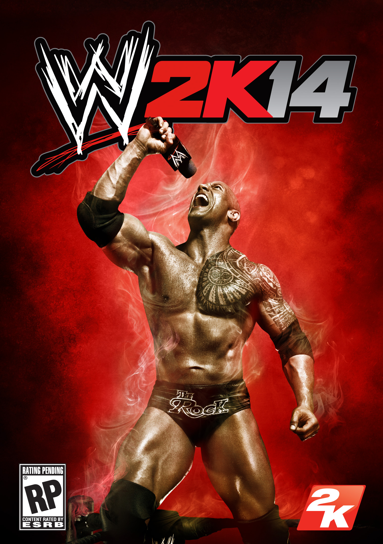 wwe-2k14 copertina the rock
