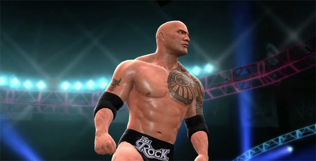wwe 2k14 the-rock